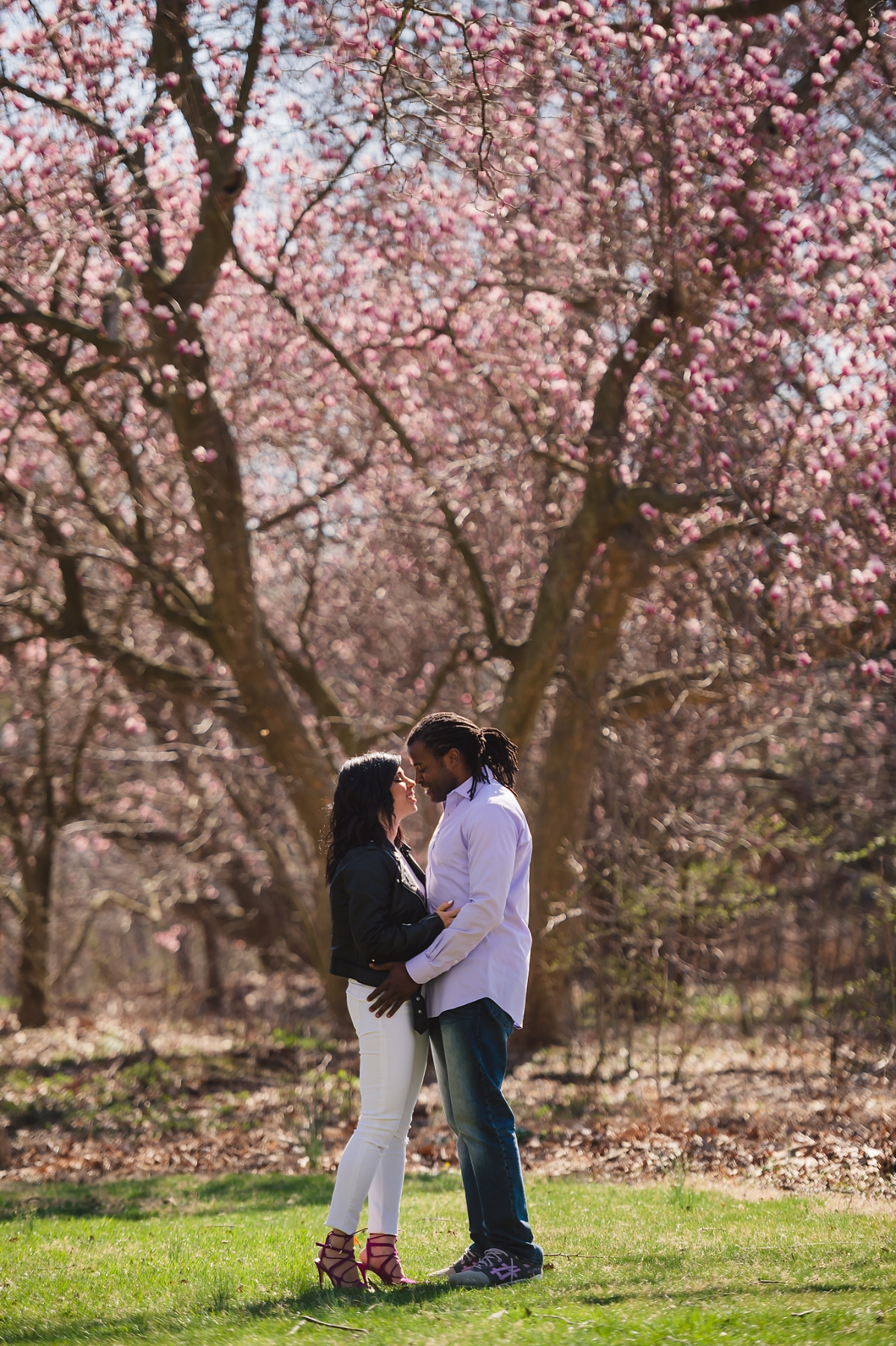 engagement session basking ridge country club
